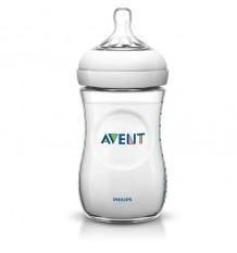 Avent Natural Bottle of 260 ml White