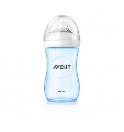 Avent Natural Flasche 260 ml, Blau