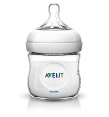 Avent Natural Bottle 125 ml, White