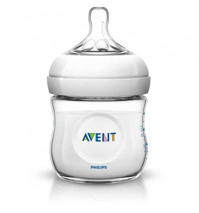 Avent Natural Biberon 125 ml Blanco
