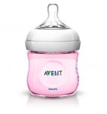 Avent Natural-Flasche, 125 ml, Rosa