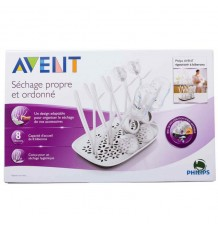 Avent Drainer Feeding Bottles, Teats, Pacifiers