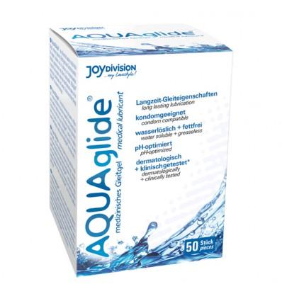 Aquaglide Lubrifiant à Base d'Eau de 50 à Dose unique de 2 ml