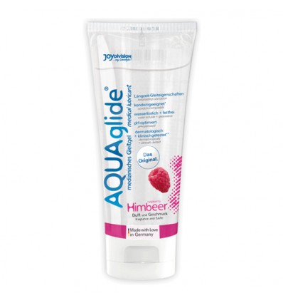 Aquaglide Lubricant Raspberry Flavour 100 ml