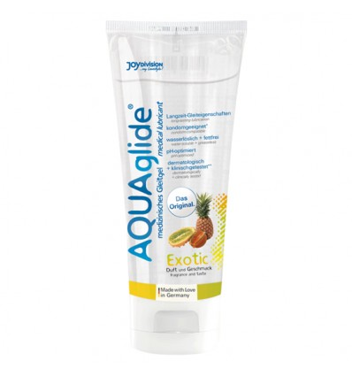 Aquaglide Lubrificante Sabor Exotico 100 ml
