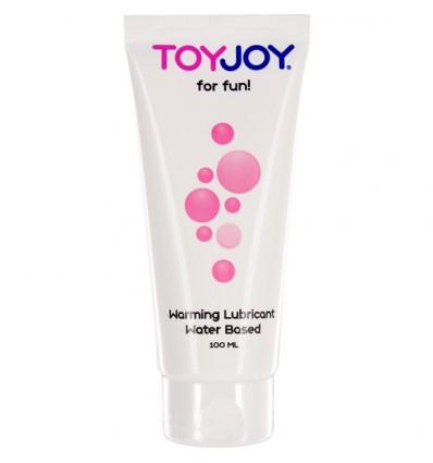 Toyjoy Lubrifiant à Base d'eau 100ml Effet de la Chaleur