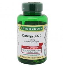 Nature's Bounty Omega 3-6-9 1200mg 60 capsulas