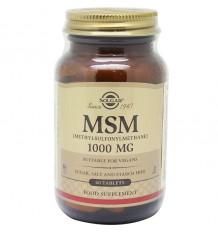 Solgar Msm Metilsulfonilmetano 1000mg 60 Comprimidos