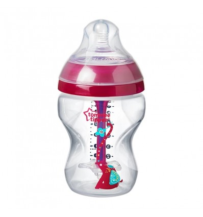 Tommee Tippee Bottle Anticolico Advanced 260ml Pink