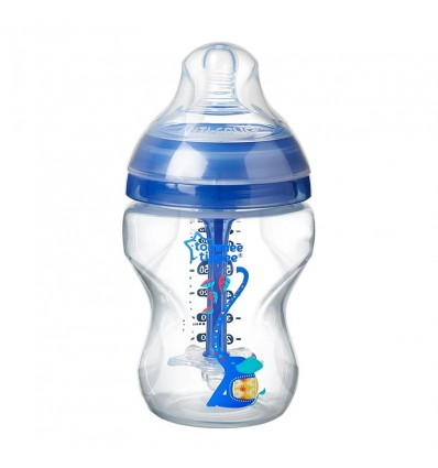 Tommee Tippee Bottle Anticolico Advanced 260ml Blue