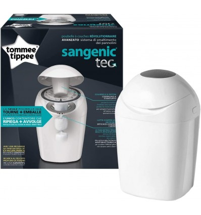 Tommee Tippee Sangenic Tec-Container Weiß