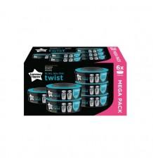 Tommee Tippee Sangenic Twist & Click-Ersatzteile 6 Einheiten 2