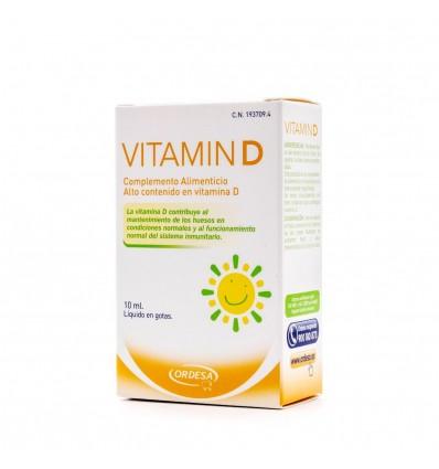 Ordesa de la Vitamine D la Vitamine D Liquide Gouttes de 10 ml