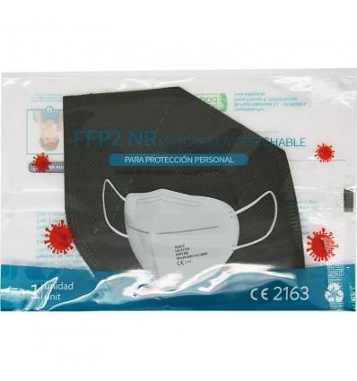 Maske Ffp2 NR Xique-Schwarz-5 Stück