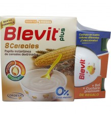 Blevit Plus 8 Cereales 600g + Bol + Cuchara
