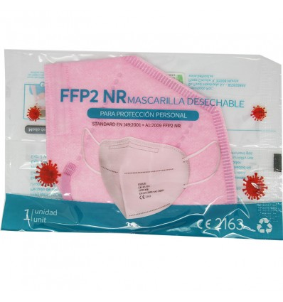 Mascarilla Ffp2 NR Xique Rosa 5 Unidades