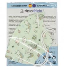 Deanshield Mascarilla Reutilizable Higienica Infantil Unicornios