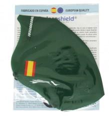 Deanshield Maske Wiederverwendbare Higienica Erwachsenen Grüne Spanien