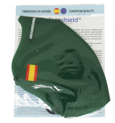 Deanshield Máscara Reutilizável Higienica Adulto Verde Portugal