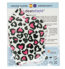 Deanshield Mascarilla Reutilizable Higienica Infantil Corazones