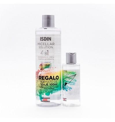 Isdin Micellar Solution 4 en 1 400ml + 100ml Regalo