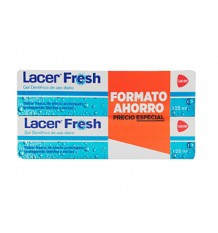Lacer Fresh Gel Dentifrico 125ml + 125ml Duplo Promocion