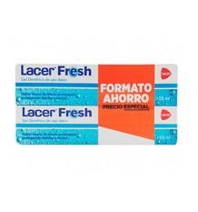 Lacer le Gel Frais Dentifrico 125ml + 125ml Duplo Promotion