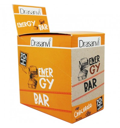 Drasanvi Energy Bar Barrita Energetica Chocolate 18 Units 40g