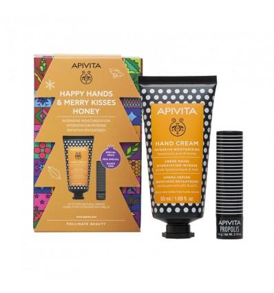 Apivita Chest Cream Hands hyaluronic acid 50ml + Balsamo Labial Propolis Cocoa 4g