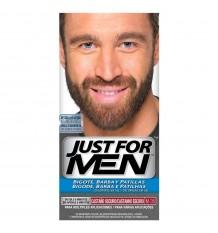Nur für Männer Schnurrbart BART-und Koteletten-dunkelbraun M-35