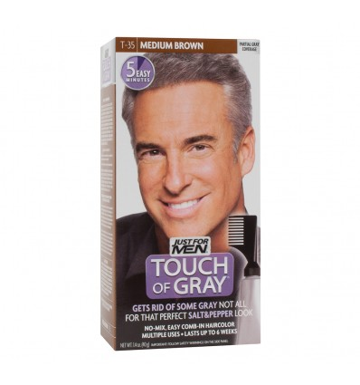 Just for Men Touch of Grey Castaño T 35