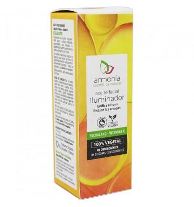 Armonia du Visage à l'Huile d'Éclairage Squalane Vitamine C 15ml
