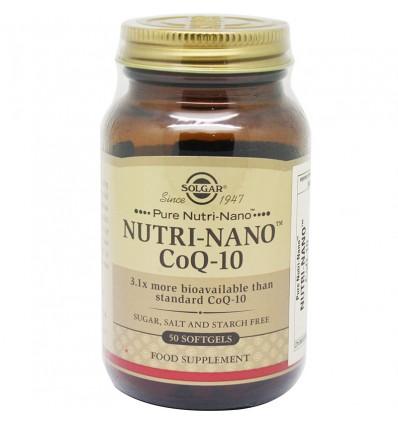 Solgar Nutri Nano Coq 10 3.1 50 Capsulas