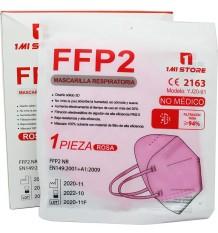 Máscara Ffp2 Nr 1MiStore Rosa 20 Unidades Caixa Completa preço