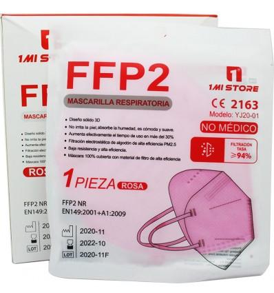 Mascarilla Ffp2 Nr 1MiStore Rosa 20 Unidades Caja Completa precio