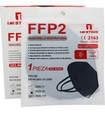 Mask Ffp2 Nr 1MiStore Navy Blue 20 Units Complete Box price