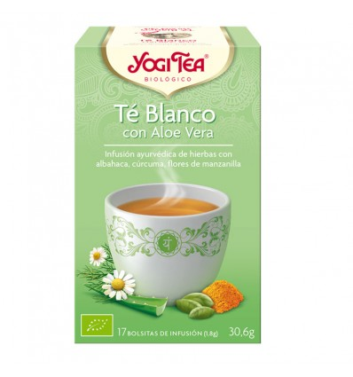 Yogi Tea Thé Blanc Aloe Vera 17 Sachets