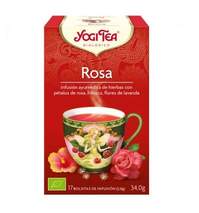 Yogi Tea Te Rosa 17 Saquinhos
