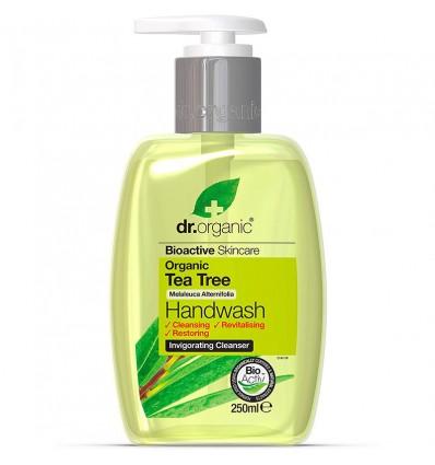 Dr Organic Hand Soap tea Tree 250ml