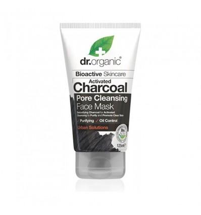 Dr. Organic Máscara de Carvão Ativado 125 ml