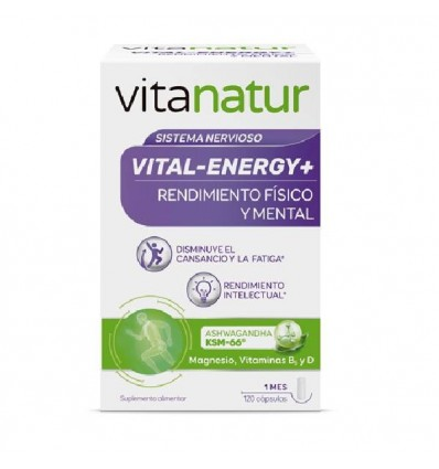 Vitanatur Vital Energy+ 120 Capsulas