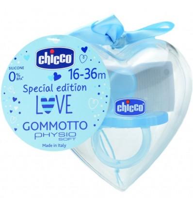 Chicco Chupete Gommotto Todogoma Edicion Especial 16-36m azul