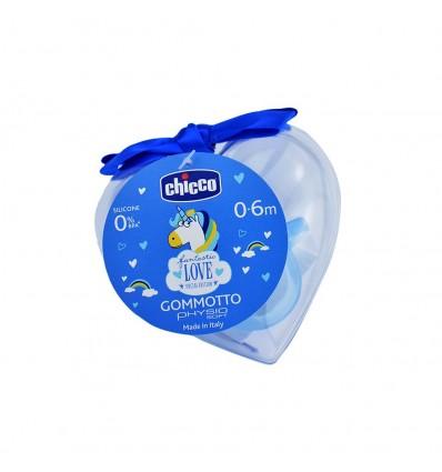Chicco Chupete Gommotto Todogoma Edicion Especial +0m azul