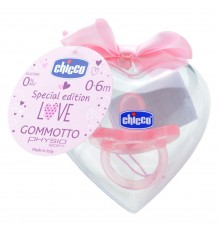 Chicco Pacifier Gommotto Todogoma Special Edition +0m pink