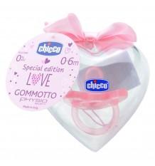 Chupeta Chicco Gommotto Todogoma Edição Especial +0m rosa