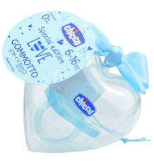 Chicco Pacifier Gommotto Todogoma Special Edition 6-16m blue
