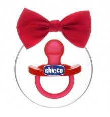 Chupeta Chicco Gommotto Todogoma Silicone Vermelho Edição Natal
