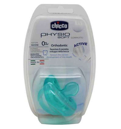 Chicco Pacifier Todogoma Silicone 12 Months, blue