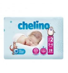 Chelino Couche Bébé Taille 2 3-6 kg 28 unités