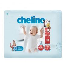 Chelino Fralda de bebe tamanho 5 13-18 kg 30 unidades